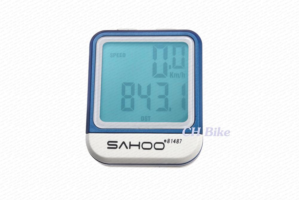 ไมล์วัดความเร็ว SAHOO 81487 รุ่นมีสาย มีไฟ