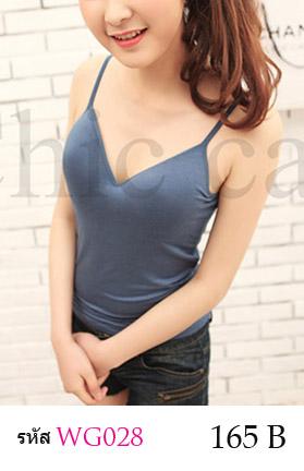 สื้อกล้าม ซับใน สายเดี่ยว สามารถปรับขนาดได้ ช่วงหน้าอก เสริมฟองน้ำอย่างดี ผ้ายืดใส่สบาย สวย เซ็กซี่มากคะ จะใส่เดี่ยวๆ หรือ จะใส่ชุดกับเสื้อคลุมอีกตัวก็ดูดีคะ *สีอาจเพี้ยนบางนะคะ แล้วแต่รอบการผลิตคะ ขนาด : รอบอกไม่เกิน 35 นิ้วคะ ผ้า : ผ้าฝ้ายผสม ( มีความยืดหยุ่น) มี 6 สี : สีขาว , สีดำ , สีเนื้อ , สีส้มอ่อน , สีฟ้าคราม , สีม่วงอ่อน