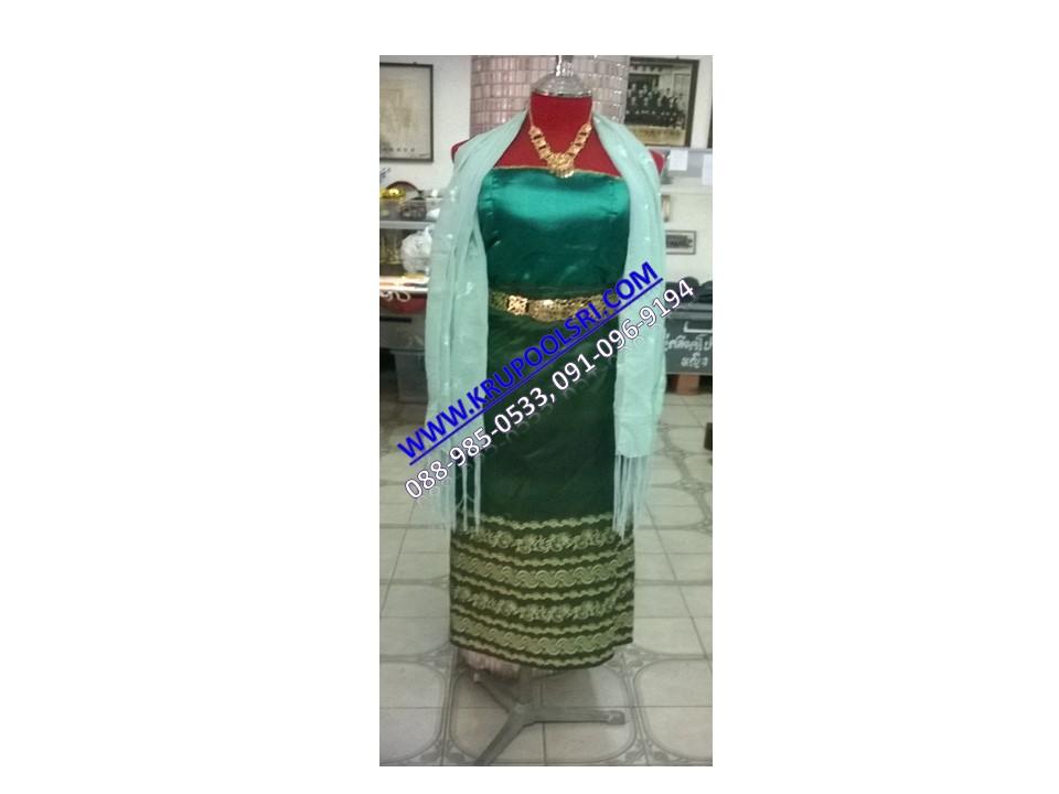 ชุดพม่า หญิง 26