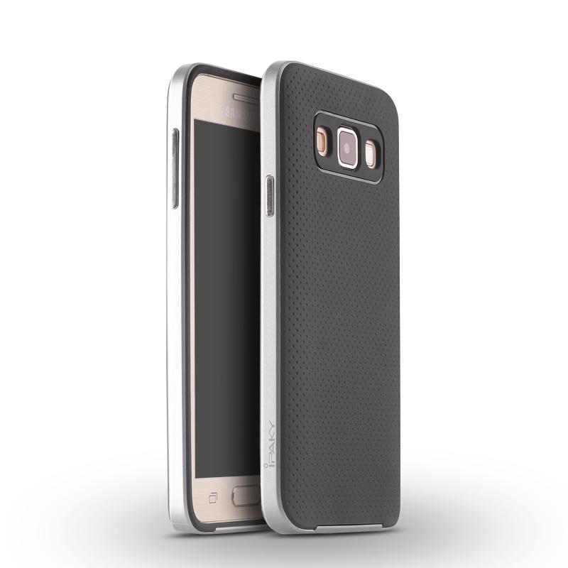 iPAKY Case samsung Galaxy A7(Silver)