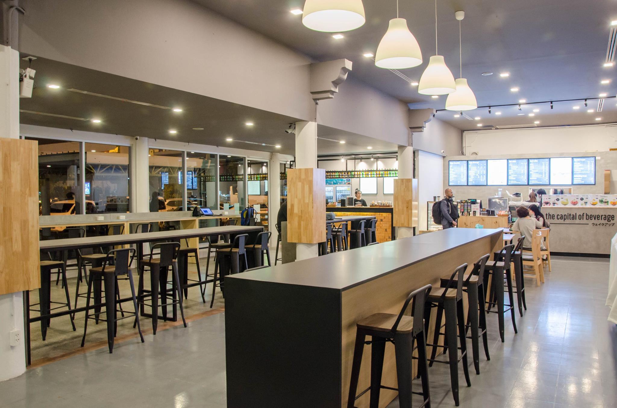 เก้าอี้บาร์เหล็กร้านกาแฟ