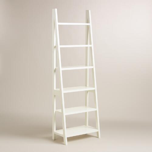 ชั้นวางหนังสือ สีขาว เรียบง่าย ดีไซน์เก๋ (MADE-TO-ORDER)