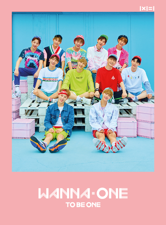 [Pre] Wanna One : 1st Mini Album - 1X1=1 (TO BE ONE) (Pink Ver.) +Poster
