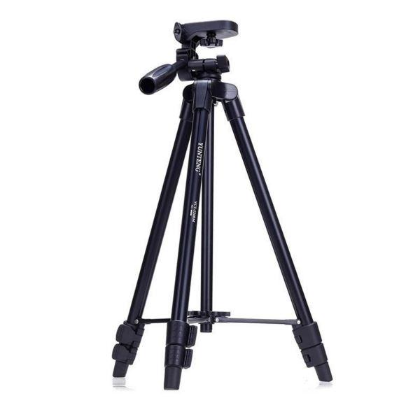 ขาตั้งกล้อง ขาตั้งมือถือ ปรับระดับได้ Yunteng VCT-520 สีดำ