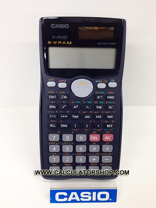เครื่องคิดเลข คาสิโอ casio รุ่น FX-991MS