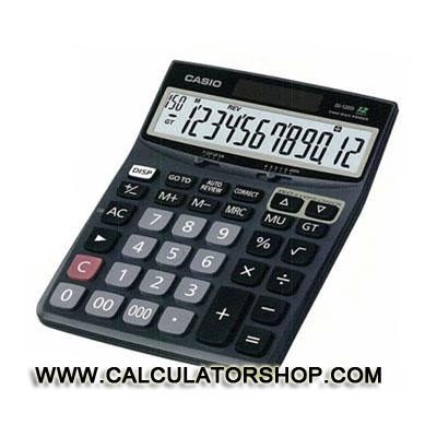 เครื่องคิดเลข CASIO รุ่น DJ-120D