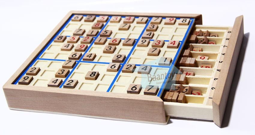 เกมไม้ Sudoku ซูโดกุ เกมปริศนาตัวเลข 1-9