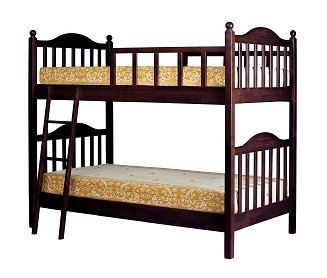 เตียงนอน 2 ชั้น สำหรับห้องที่มีพื้นที่จำกัด แข็งแรงทนทาน นอนได้ทั้งเด็กและผู้ใหญ่