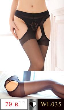 ถุงน่องแบบเต็มตัว สีดำ ว้าวด้านหน้า-หลัง และด้านข้าง เพิ่มความเซ็กชี่ ในการสวมใส่คะ ขนาด : FREE SIZE