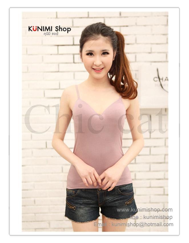เสื้อกล้าม ซับใน สายเดี่ยว สามารถปรับขนาดได้ ช่วงหน้าอก เสริมฟองน้ำอย่างดี ผ้ายืดใส่สบาย สวย เซ็กซี่มากคะ จะใส่เดี่ยวๆ หรือ จะใส่ชุดกับเสื้อคลุมอีกตัวก็ดูดีคะ สินค้าเหมือนแบบ 100% ขนาด : FREE SISE ( รอบอกไม่เกิน 35 นิ้วคะ) ผ้า : ผ้าฝ้ายผสม ( มีความยืดหยุ่น) มี 6 สี : สีขาว , สีดำ , สีเนื้อ , สีส้มอ่อน , สีฟ้าคราม , สีม่วงอ่อน