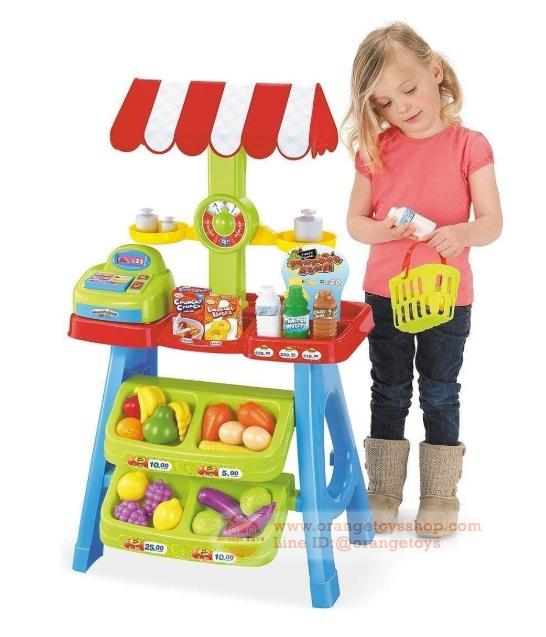 ชุดโต๊ะขายเครื่องดืม และผลไม้