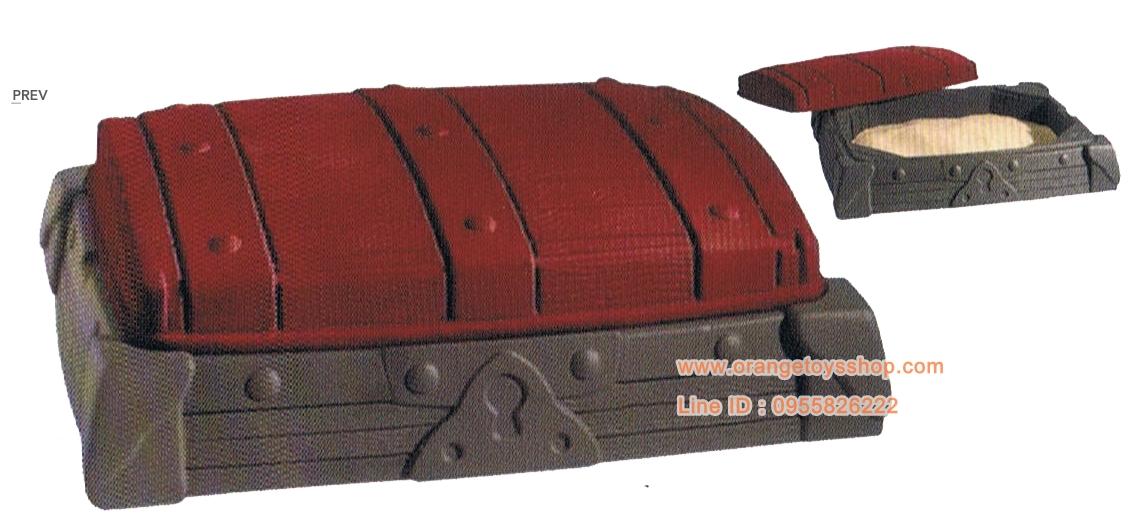 Sandbox กระบะทราย กรุสมบัติ ขนาด 94 x 122 x 36 cm