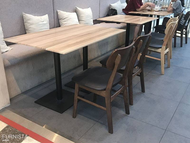 เก้าอี้มีสไตล์ ดีไซน์สวย สำหร้บแต่งร้านกาแฟ คาเฟ่ ร้านบิงซู (MARINA)