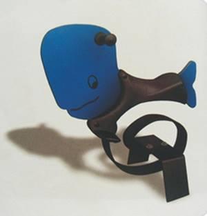 สปริงแผ่นวาฬน้ำเงิน SIZE:82X26X82 cm.