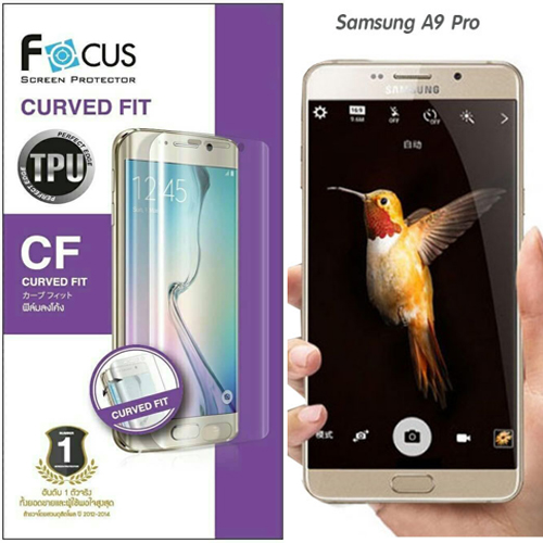 Focus ฟิล์มลงโค้ง ซัมซุง Samsung A9 Pro ซัมซุงเอ9 โปร
