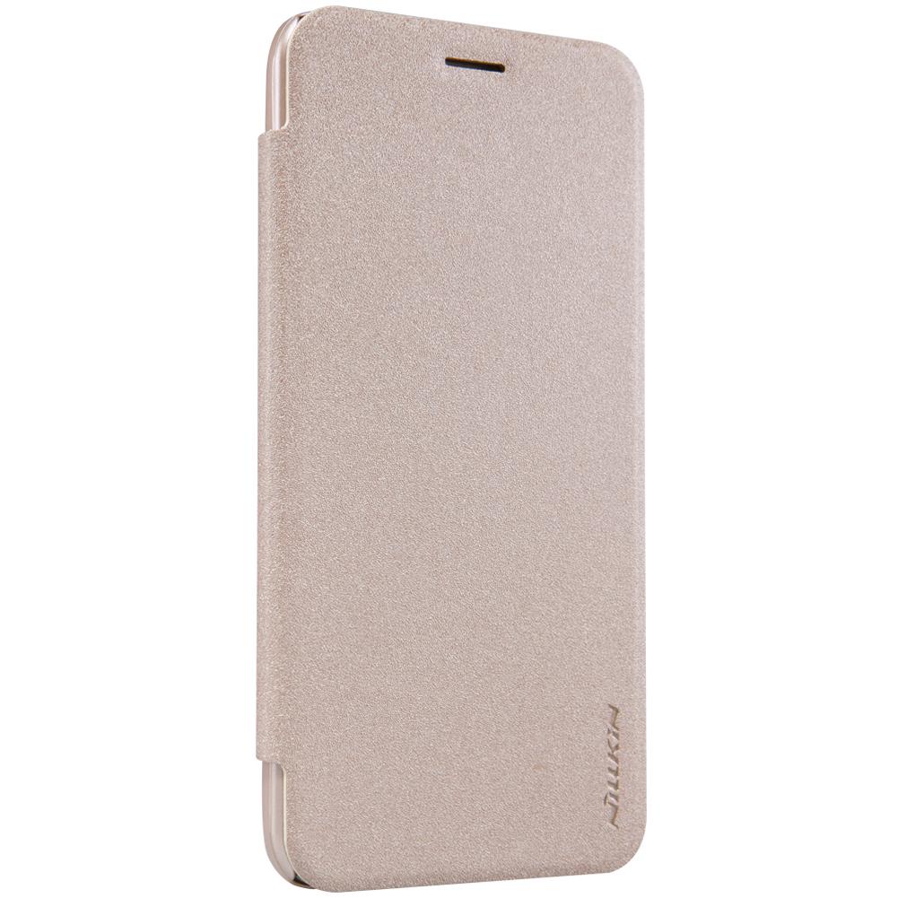 เคสOPPO F1 Plus ฝาพับ nillkin Sparkle Leather Case สีทอง