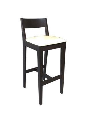 เก้าอี้บาร์ สีโอ๊ค คุณภาพส่งออก สำหรับร้านกาแฟ ร้านอาหาร โรงแรม