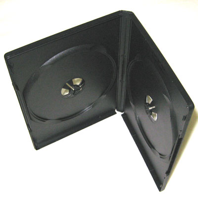 กล่องใส่แผ่นDVD (2แผ่น)