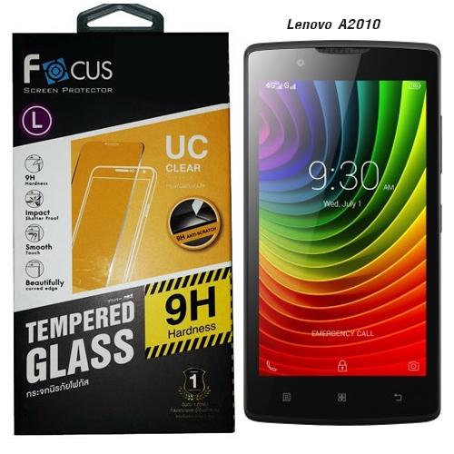 Focus โฟกัส ฟิล์มกันรอยมือถือ ฟิล์มกระจกนิรภัยกันกระแทก Lenovo A2010