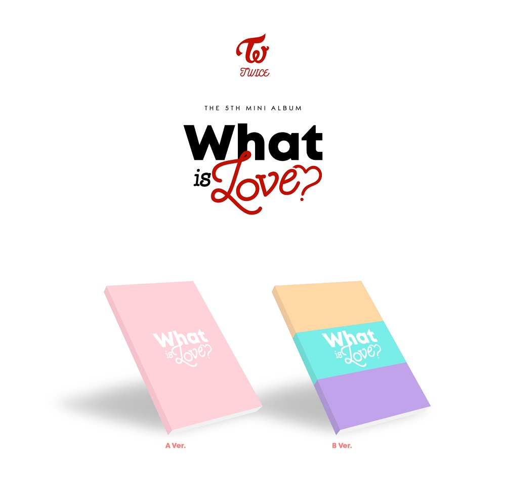 [Pre] TWICE : 5th Mini Album - WHAT IS LOVE? (Random Ver.) +Poster