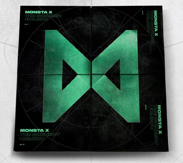 [Pre] Monsta X : Album - The Connect : Dejavu (Random Ver.) +Poster