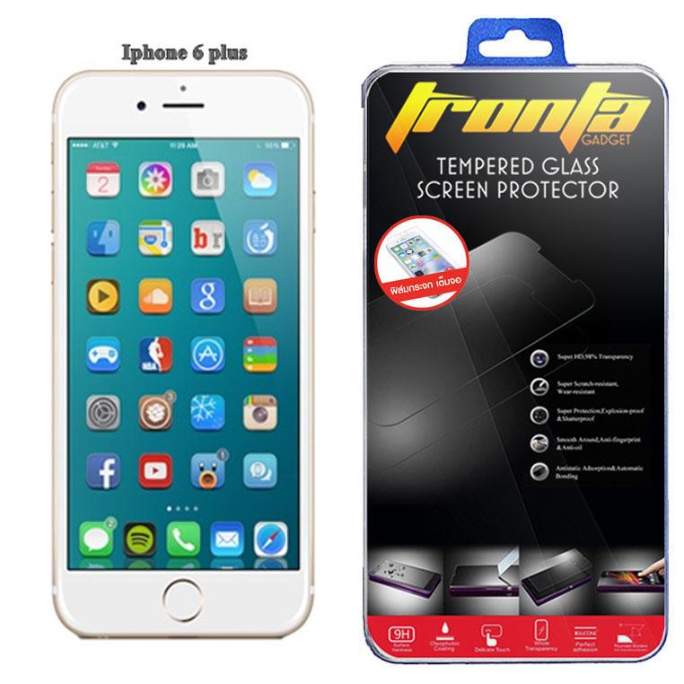 Tronta ฟิล์มกระจก Iphone 6plus ไอโฟน 6 พลัส