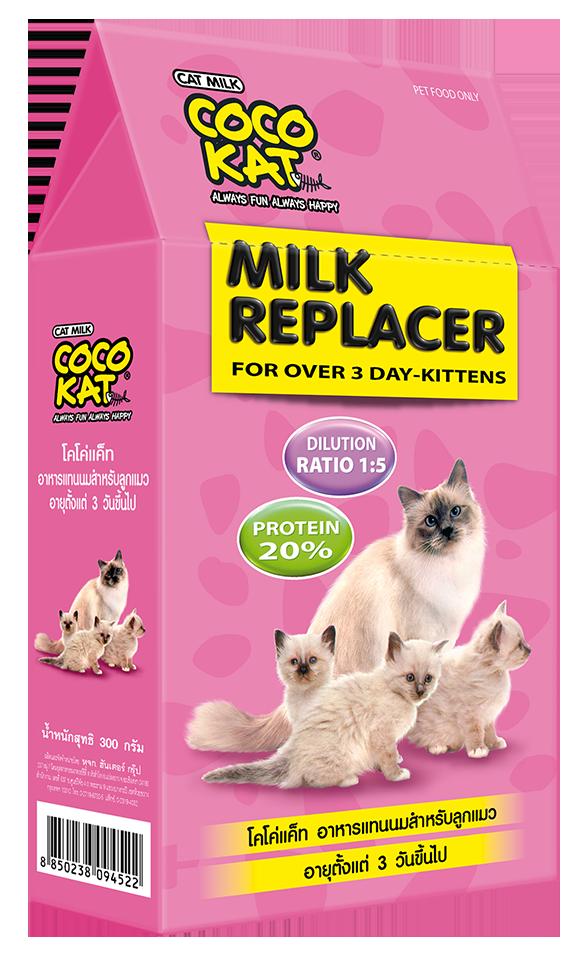 Cocokatโคโค่แคท นมแพะผง กล่อง 150g นมผงแมว