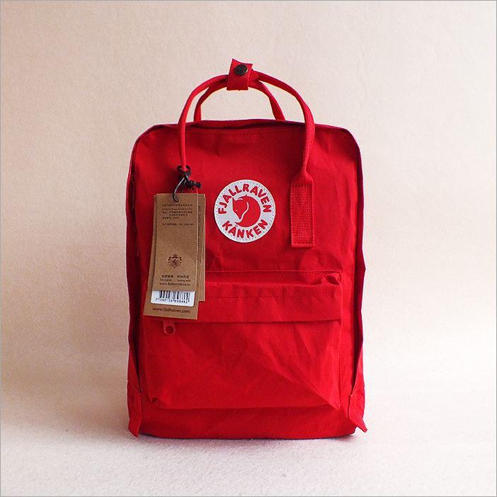 กระเป๋า KanKen คลาสสิค -แดงสด
