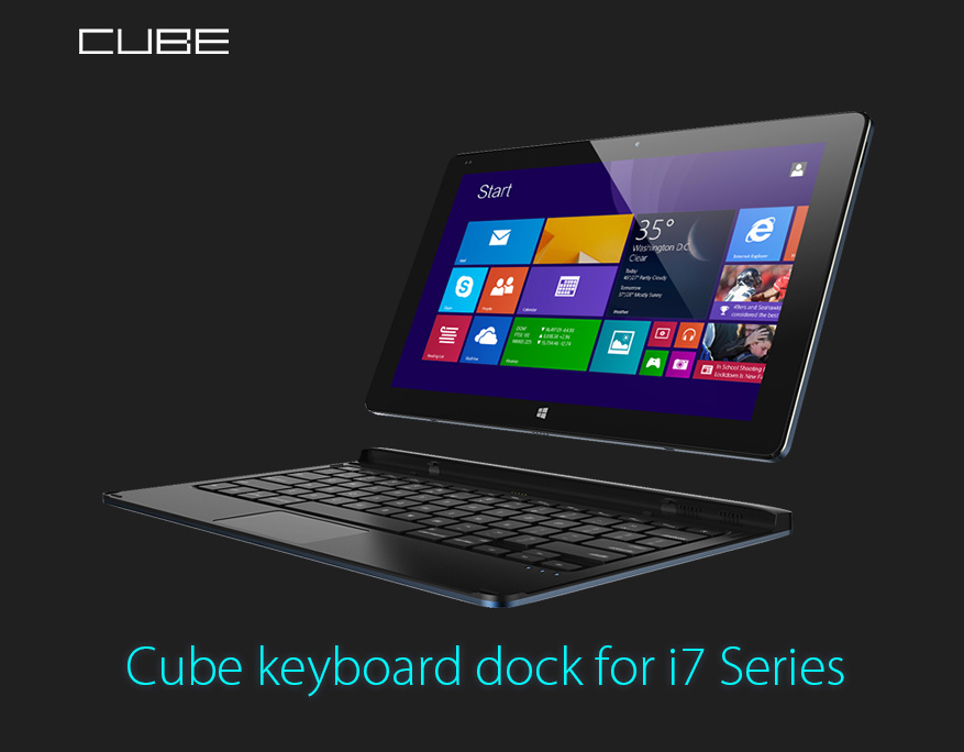 Magnetic Docking Keyboard for Cube I7 series