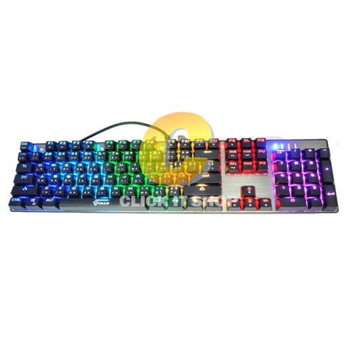 Keyboard OKER Mechanical RED Switch (K89) Black