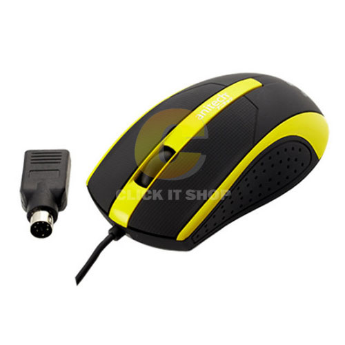Mouse USB ANITECH รุ่น A532 - Yellow