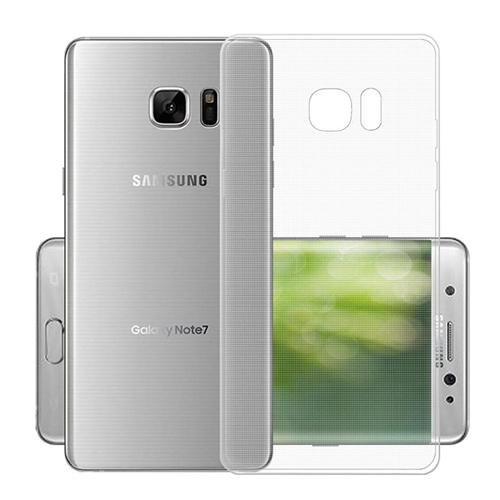 เคส Samsung Note7 เคสซัมซุงโน๊ต7 เคสซิลิโคนนิ่มแบบใส โชว์เครื่องสวย