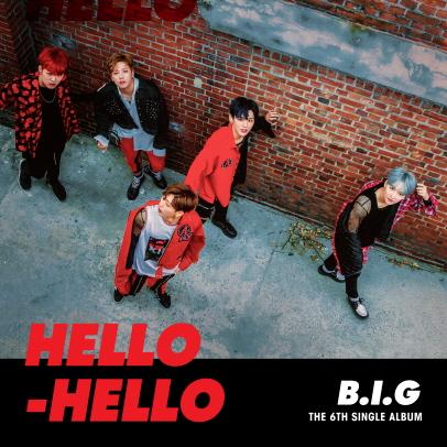 [Pre] B.I.G : 6th Single Album - HELLO HELLO +Poster