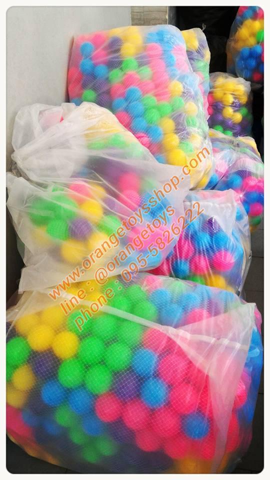 """ลูกบอล ขนาด 3"""" จำนวน 300 ลูก คละสี"""
