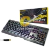 Keyboard Semi Mechanical Nubwo NK-55 Phantom Plus Blue Switch - Black