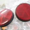 ทับทิม สีแดง ขอบสีดำ เทียม (เกลียว 5 mm.)