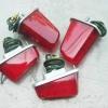 ชุดไฟเลี้ยว หน้า+หลัง C100 C102 สีแดง เทียม งานใหม่