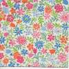 แนวภาพลายดอกไม้ หลากสี กระดาษแนพคินสำหรับทำงาน เดคูพาจ Decoupage Paper Napkins เป็นภาพเต็มแผ่น ขนาด 25X25 ซม