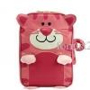 กระเป๋าเป้เด็ก NADO รูปแมวเหมียว วัสดุเป็นหนัง PU เนื้อนิ่ม สีสันสดใส