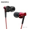 หูฟังแบบ Small Talk เสียงเบส แน่นทุ้ม ตัดเสียงรบกวน ยี่ห้อ Remax ุร่น RM-575 สีแดง