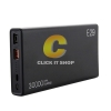 POWER BANK 30000 mAh 'ELOOP' (E29) Black