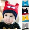 ฺฺBB004 หมวกไหมพรม เส้นเล็ก หน้าเสือ หูตั้ง ขอบหมวกพับได้ เป็นอีกสี สวย น่ารักมากคะ มีหลานสีให้เลือก