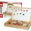 ของเล่นไม้ กล่องกระดานเสริมทักษะคำศัพท์และตัวเลข Multipurpose study box