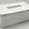 ชิ้นงานดิบ พลาสติกสาน ทำ Decoupage งานเพนท์ กล่องทิชชูแบบกล่อง ฝาเปิดปิด