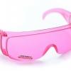 แว่นตากันน้ำ แว่นตากันลม สำหรับขี่จักรยาน safety glasses สีชมพู สำเนา สำเนา
