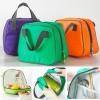 กระเป๋าผ้าใส่อาหาร กล่องข้าว อาหาร ยา เก็บรักษาอุณหภูมิ ร้อน-เย็น วัสดุทำจากผ้า มีซิบเปิด-ปิด ขนาด กว้าง 19.5 x สูง 22 x หนา 11.5 cm.