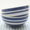 ถ้วยน้ำจิ้มลายทาง Vintage สีน้ำเงิน Strip เซต 2 ใบค่ะ Indra