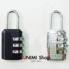 GL176 แม่กุญแจ หมุนถอดรหัส ไม่ต้องใช้ลูกกุญแจ (ตัวเล็ก SS) ล๊อคบ้าน ล๊อคประตู ล๊อคตู้ ล๊อคกระเป๋า สำเนา