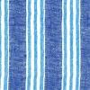 แนวภาพลายแต่ง ลายตารางสีฟ้าลายทางสลับขาว ภาพโทนสีฟ้า เป็นภาพกระจายเต็มแผ่น กระดาษแนพกิ้นสำหรับทำงาน เดคูพาจ Decoupage Paper Napkins ขนาด 33X33cm