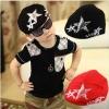 หมวก เทห์ๆ เก๋ๆ สไตล์เกาหลี สีดำ